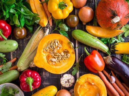 Mon panier d'octobre : manger sainement et de saison !