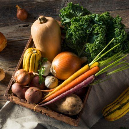 Mon panier de novembre : manger sainement et de saison !