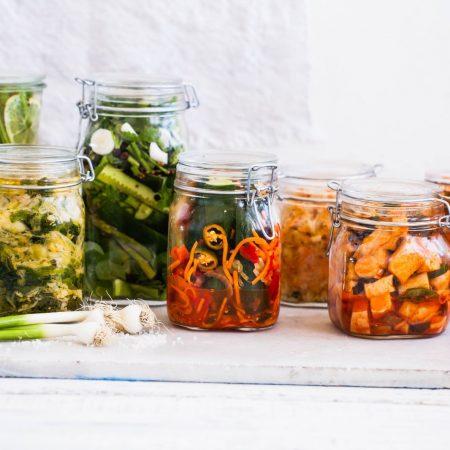 Immunonutrition : microbiologie des aliments fermentés